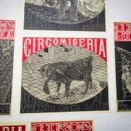 Circo Miseria posters by Fernan Mejia